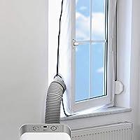 Guarnizione per finestre AirLock 100   Nell'utilizzo di un condizionatore d'aria portatile in uffici o ambienti domestici, rimane quasi sempre un'unica possibilità, quella di scaricare l'aria calda tramite una finestra aperta. In questo modo ...