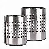MGE - Küchenutensilienhalter - Besteckständer aus Edelstahl - Utensilienhalter -