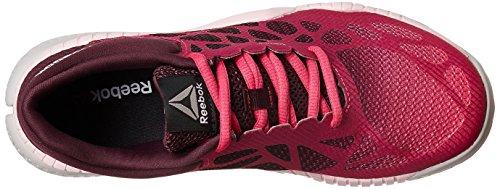 Reebok Zprint Train, Chaussures de Fitness Femme Rose - Pink (Rosa/Bordeaux/Pink/Grau)