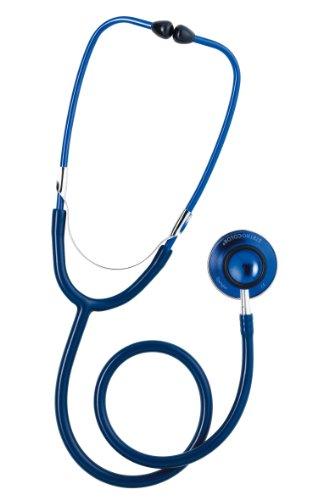 Spengler Stethoskop, doppelter Schalltrichter, für Erwachsene, Marineblau