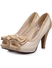 Noeud Papillon Doux d'été Sandales Fille Ultra-Léger à la Bouche du Poisson des Explosions, la Taille du Code Chaussures Femmes