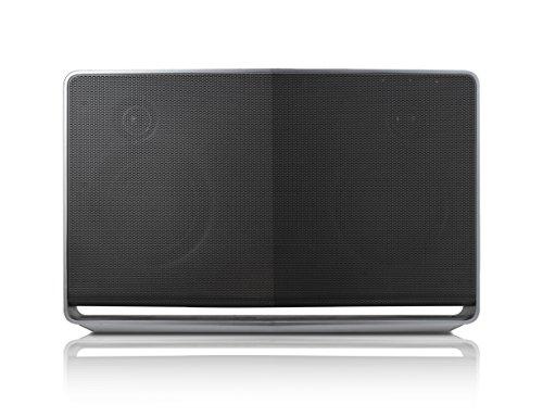 LG NA9740 Bluetooth Lautsprecher (70 Watt, WLAN, DLNA, Internetradio) silber/schwarz