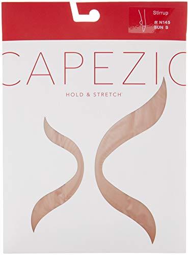 Capezio N145 hold & stretch Stirrup Strumpfhose suntan X-Large - Capezio Stretch-strumpfhosen