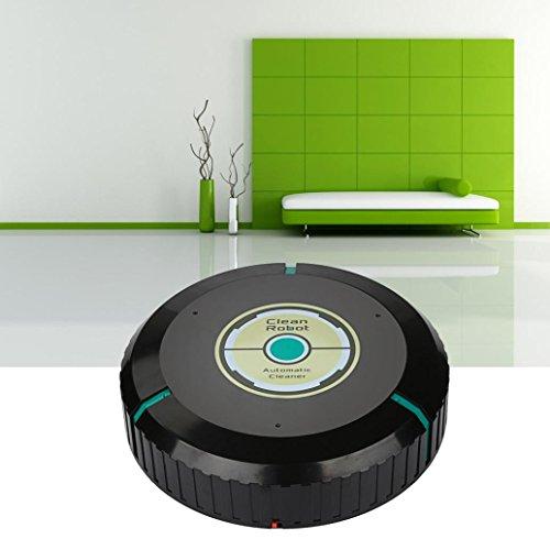 Jaminy Intelligente Roboter Staubsauger Automatische Mini Kehrmaschine (Schwarz)