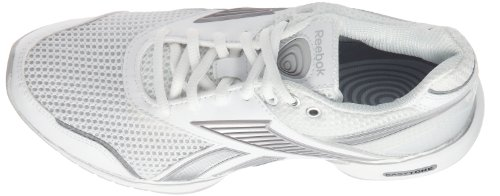 Reebok Chaussure Easytone Reecommit, Scarpe da Corsa Donna bianco (Blanc/Acier/Argent)