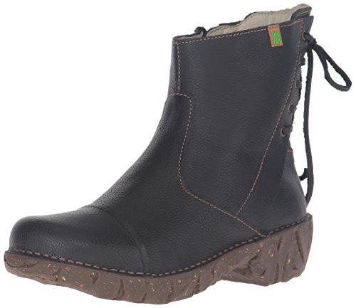 El Naturalista N148 Soft Grain Yggdrasil, Stivali a Gamba Larga Donna, Nero (Black N01), 39 EU