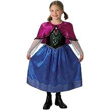 Rubie`s - Disfraz infantil de Anna Deluxe (888671-L)