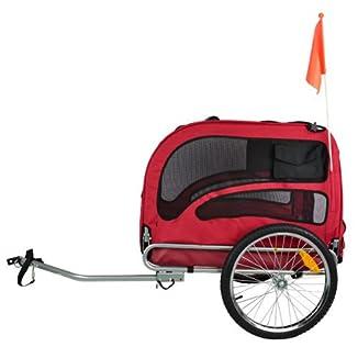 remolque de bici para perro