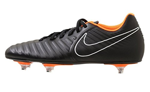 Nike Legend 7 Club SG, Scarpe da Fitness Uomo, Multicolore (Black/Total Orange-B 080), 44.5 EU