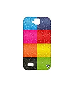 Vogueshell Multi Colour Pattern Printed Symmetry PRO Series Hard Back Case for Huawei Honor Holly