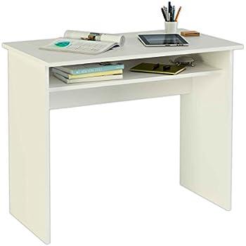 Meka Block K 9465B   Schreibtisch, 90 Cm Breit, Farbe: Weiß