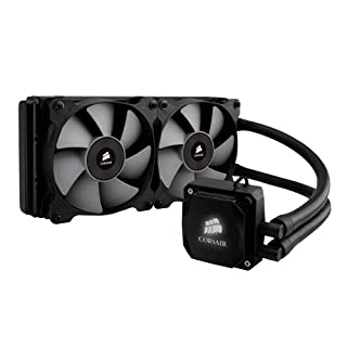 Corsair CW-9060025-WW Hydro Series H100i V2 240 mm Extreme Performance All-In-One Liquid CPU Cooler - Black (B009ZN2NH6) | Amazon price tracker / tracking, Amazon price history charts, Amazon price watches, Amazon price drop alerts