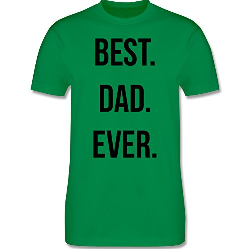 Vatertag - Best Dad Ever - Herren Premium T-Shirt Grün