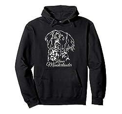 Kleiner Münsterländer Hund Hunde Portrait Jagdhund Jagdhunde Pullover Hoodie