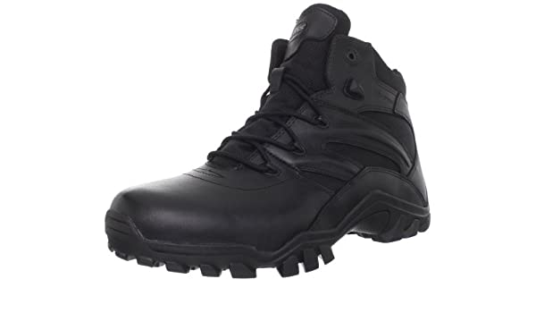 Bates SIEGE WATERPROOF SIDE ZIP Leather Side Zip Lace-Up Ankle Mens Boots