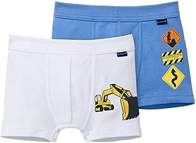 Schiesser 2pack Hip Shorts - Bóxer Niños