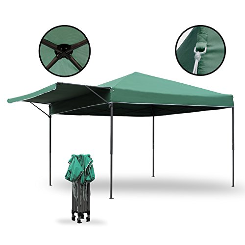 Sekey Pavillon Gartenpavillon | Faltbarer Pavillon | Polyester Faltbares Partyzelt | Einklappbares...