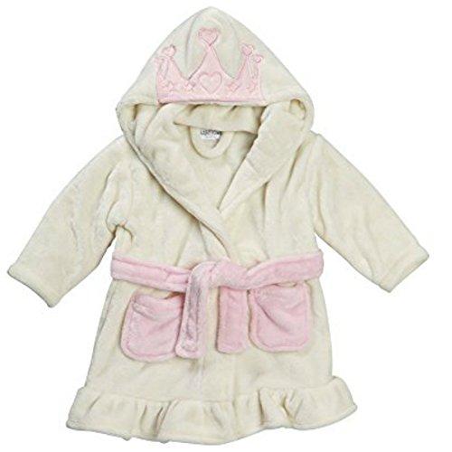 BABY TOWN Baby Mädchen (0-24 Monate) Bademantel Gr. 18-24 Monate, princess