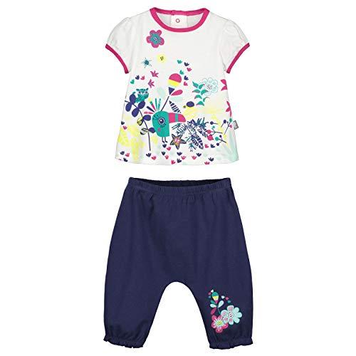acc9fbd371fec Petit Béguin - Ensemble bébé fille t-shirt + sarouel Hamini - Couleurs -  Ecru