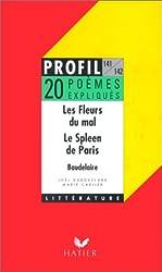 LES FLEURS DU MAL (1857). LE SPLEEN DE PARIS (1869), BAUDELAIRE. 10 textes expliqués