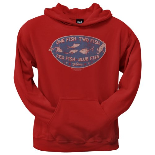 Old Glory – Dr. Seuss – Herren Catch of the Day Hoodie Gr. X-Large, rot