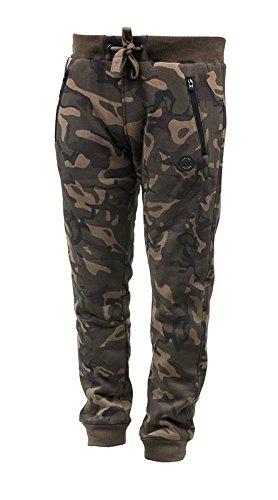 Fox Chunk Camo Lined Joggers - Angelhose, Anglerhose, Hose für Angler, Angelhosen, Anglerhosen, Jogginghose, Größe:XXL