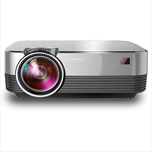 TIAN Mini-Projektor, Full HD 1200 Lumens, Mit Android-System Unterstützung 1080P WiFi-Direktverbindung, Geeignet Für Home-Entertainment, Partys Und Spiele