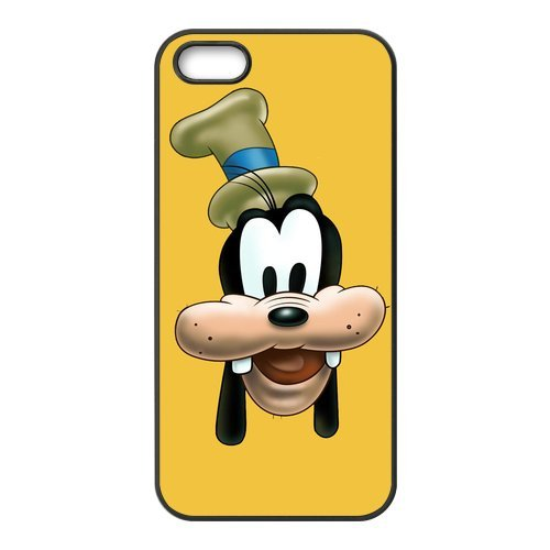 iPhone 5S Case, iPhone 5/iPhone 5S Case Coque, Screen Protector pour iPhone 5S, Disney Goofy Designs iPhone 5 Case, iPhone 5/iPhone 5S Coque de protection Case