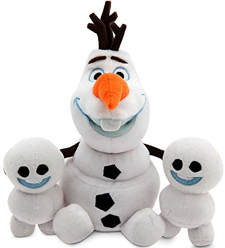 Disney Olaf and Snowgies Plush Bundle - Mini Bean Bag - 8'' - Frozen Fever by Disney Frozen by Disney Frozen