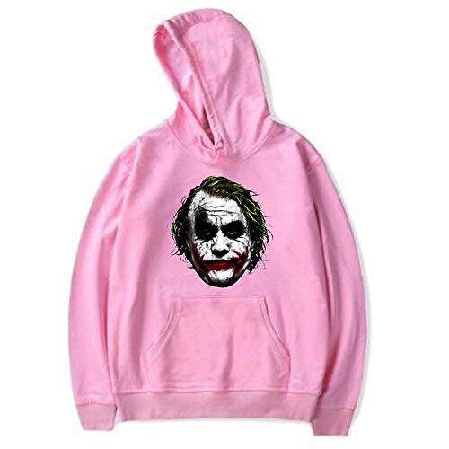 Hooded Unisex Clown Theme Kapuzenpullover Langarm Paar Pullover Sweatshirt Pullover Tops - 80's Theme Party Herren Kostüm