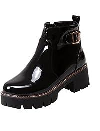 separation shoes f7569 f9dfc Suchergebnis auf Amazon.de für: Schwarze Lack Stiefeletten ...
