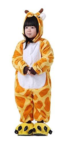 Chucky Kostüm Kleinkind Für (Auspicious beginning Unisex Tier Pyjamas Halloween Panda Giraffe Jumpsuits für)