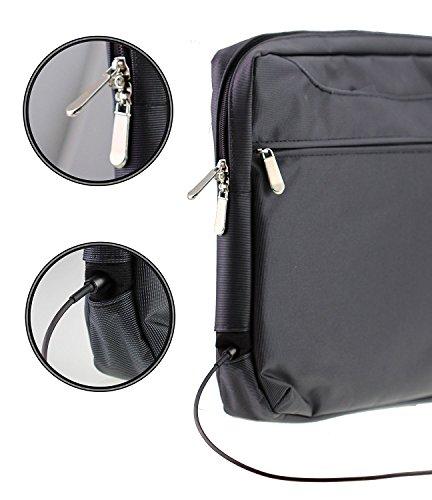 Navitech Schwarz Case / Cover Trage Tasche für das ASUS VivoBook S14 S410UN