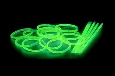 Knicklichter, Glow Sticks, Leuchtsticks, 100er Pack ,gruen von Multila - Lampenhans.de