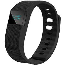 waygo deportes pulsera TW64Pulsera inteligente deporte inalámbrica Bluetooth 4.0pulsera inteligente Deportes Pulsera podómetro Sleep monitor contador de calorías Fitness actividad rastreador