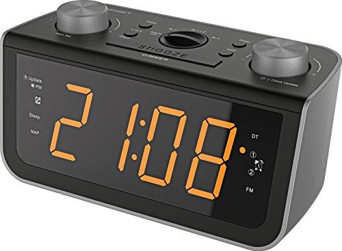 Soundmaster FUR5005 - Radio Despertador, Color Negro