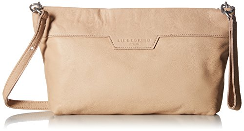 Liebeskind Berlin Damen Carrie7 Vintag Clutch, Beige (Light Powder), 5x20x33 cm