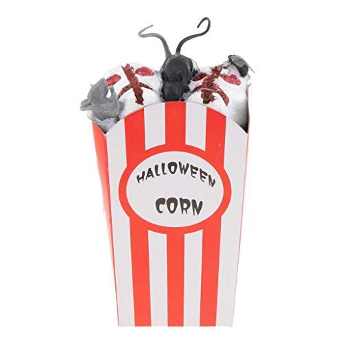 P Prettyia Halloween Popcorn Dekoration Gruselige Spielzeug Horror Prop - ()