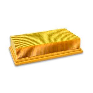 vhbw Flachfaltenfilter Filter für Staubsauger Kärcher NT 25/1 Ap, NT 35/1 Ap, NT 35/1 Tact/Te/M, NT 361 Eco/Te/M, NT 45/1 Tact/Te/M wie 6.904-367.0