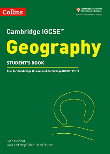 Cambridge IGCSE™ Geography Student's Book (Collins Cambridge IGCSE™) (Collins Cambridge IGCSE (TM)) por John Belfield