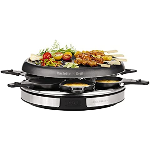 Tefal RE127812  - Raclette 6 Personas, On /Off, 850 W