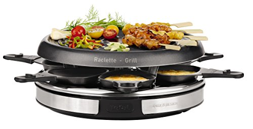 Tefal RE127812 - Raclette 6 Personas, On/Off, 850 W