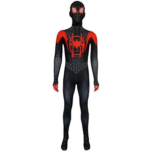 ZYFDFZ Spiderman Cosplay Halloween Film Charakter cos Strumpfhosen Overall Partei Artikel Maske ( Color : Adult , Size : M ) (Party Stadt Superhelden Kostüm Für Damen)