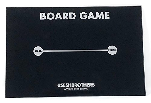 SESHBROTHERS Sesh Board, acrylic sheet, sniff, snorter, snuff Multiple Designs (Boardgame)