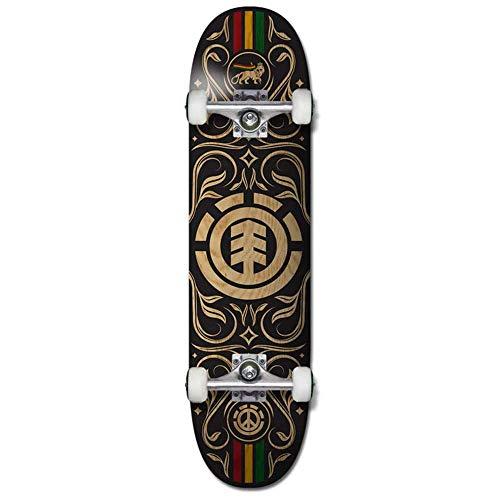 element skateboards naturalistic - skateboard completo, 20,3 x 81,3 cm