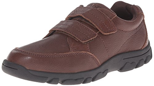 Hush Puppies Jace Uniform Oxford (Toddler/Little Kid/Big Kid), Brown, 12 M US Little Kid (Hush Puppies Uniform Schuhe)