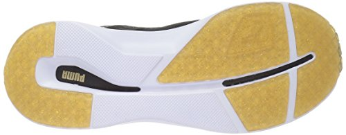 Puma Women s Pulse XT V2 Gold WNS Cross-Trainer Shoe  Black Gold  3 UK