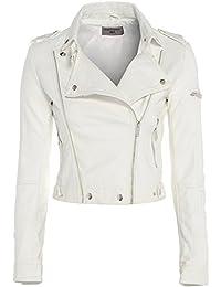 Amazon White Jackets Coatsamp; JacketsClothing co ukOff JFK1Tlc