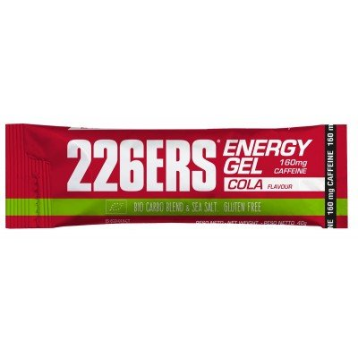 226ERS Energy Gel BIO 30 x 40g Cola 160mg Cafeína