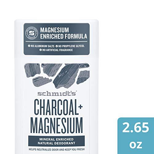 Schmidt's Deodorant Stick Vegan, Kohle & Magnesium, 75 g/ 58ml